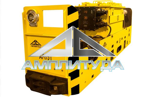 Аккумуляторный электровоз АРВ5Т