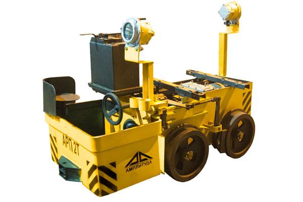 Аккумуляторный электровоз АРП2Т